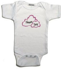 100% Cotton Heaven Sent Onesie
