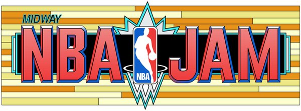 midway nba jam marquee | 313 arcade