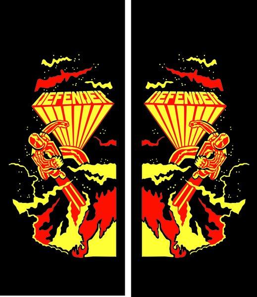 Defender Arcade Logo