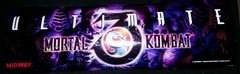 Ultimate Mortal Kombat 3 Marquee