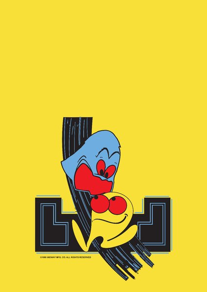 Ms Pac Man Front Kickplate 313 Arcade