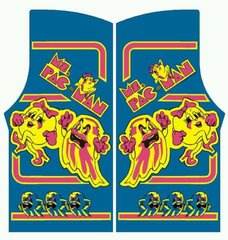 Ms Pac Man Side Art Set