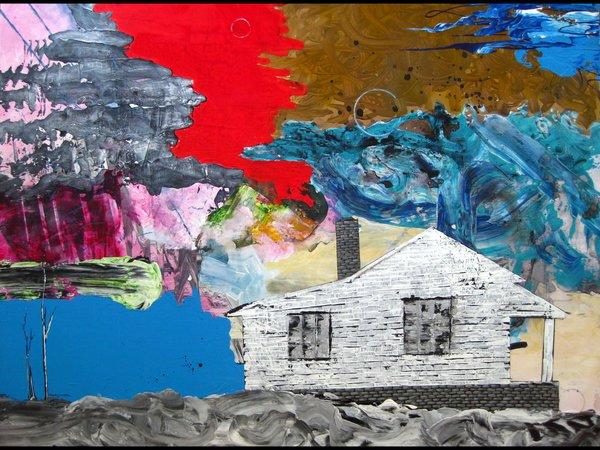 """18x24"""" Abandoned print"""