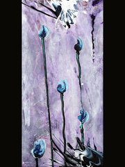 "18x24"" Blue Tulips print"