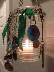 Upcycle Porch Lantern