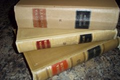 Leather Bound Vintage Law Books