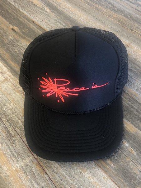 Peace is Logo Trucker Hat