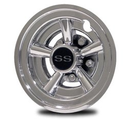 SS 8 inch Wheel Covers (set of four)