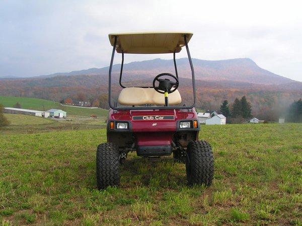 Club car ds light kit golf cart light kit basic lights for Golf cart motor repair