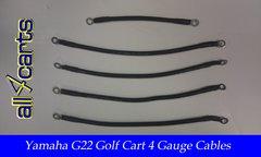 Yamaha G22 48 Volt Battery Cable Set - 4 Gauge