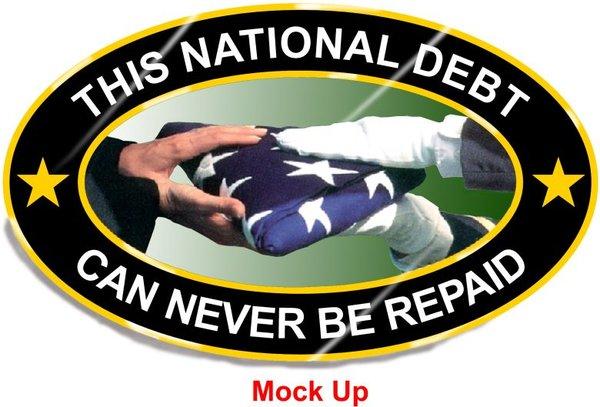 National Debt Pin