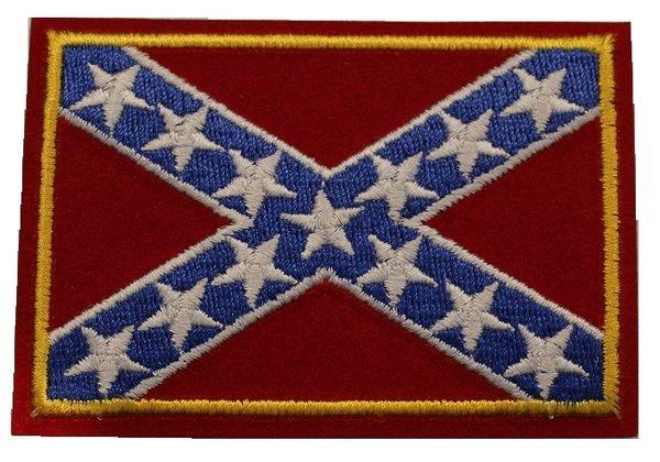 CONFEDERATE BATTLE FLAG PATCH