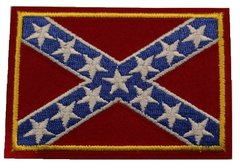 CONFEDERATE BATTLE FLAG PATCH