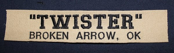 Embroidered Name Tape