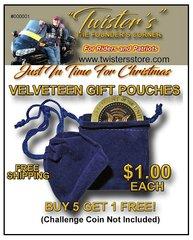 Velveteen Gift Pouch
