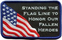 Flag Line Patch