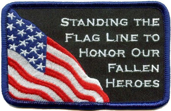 Flag Line Patch