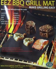 BBQ GRILL MAT - Make Grilling Easy!