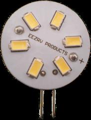 G4 BASE - 10 WATT HALOGEN REPLACEMENT BULB - WARM WHITE (SIDE PINS)
