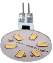 G4 BASE - 10 WATT HALOGEN REPLACEMENT BULB (COOL WHITE - BACK PINS)