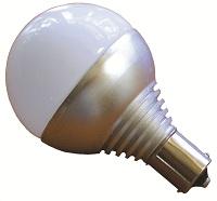 BAYONET BASE - VANITY BULB 4 LED SINGLE POST: COOL WHITE