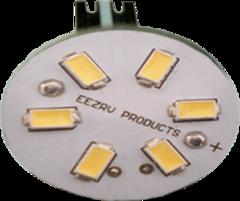 T10 (WEDGE) BASE - BACK PIN LED BULB (WARM WHITE)