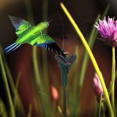 Solar Powered Dancing Flying Hummingbird Garden Decoration