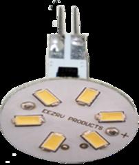 G4 BASE - 10 WATT HALOGEN REPLACEMENT BULB (WARM WHITE - BACK PINS)