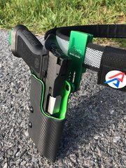 Double Layer Competition Holster, Drop Attachment, OWB