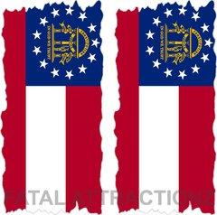 Georgia Flag Cornhole Cover