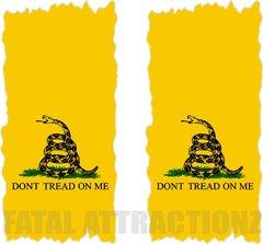 Gadsden Flag Cornhole Cover