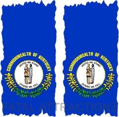 Kentucky Flag Cornhole Cover