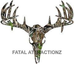 Camo Deer Skull S4