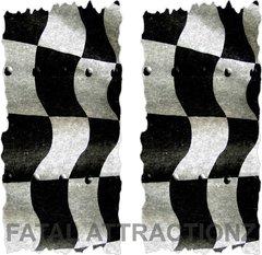 Racing Flag Cornhole Cover