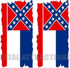 Mississippi Flag Cornhole Cover