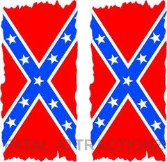 Confederate Flag Flat Cornhole Cover