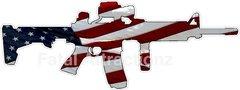 American Flag AR15