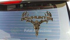 Grassland Camo Bowhunter Deer Skull S4