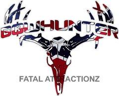 Rebel Flag Bowhunter Deer Skull S4