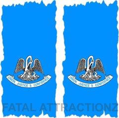 Louisisana Flag Cornhole Cover