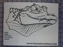 Shooting Target Alligator/Crocodile