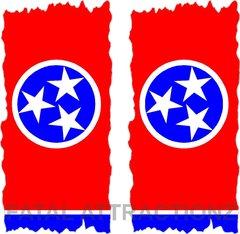 Tennesse Flag Cornhole Cover