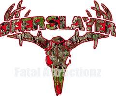 Red Camo Deerslayer Deer Skull S4