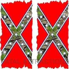 Confederate Camo Flag Cornhole Cover