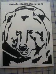 Shooting Target Bear