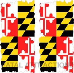 Maryland Flag Cornhole Cover