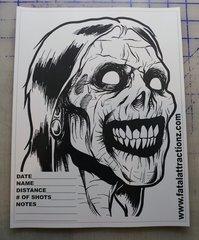 Shooting Target Zombie Head