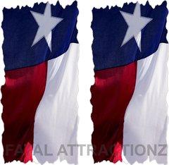 Texas Flag Cornhole Cover