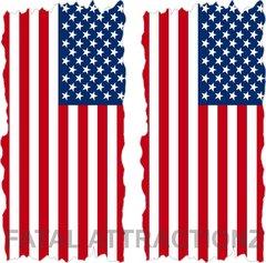 American Flag Flat Cornhole Cover