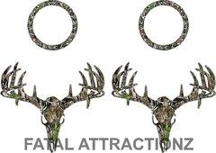 Camo Deer Skull S4 Cornhole Pack